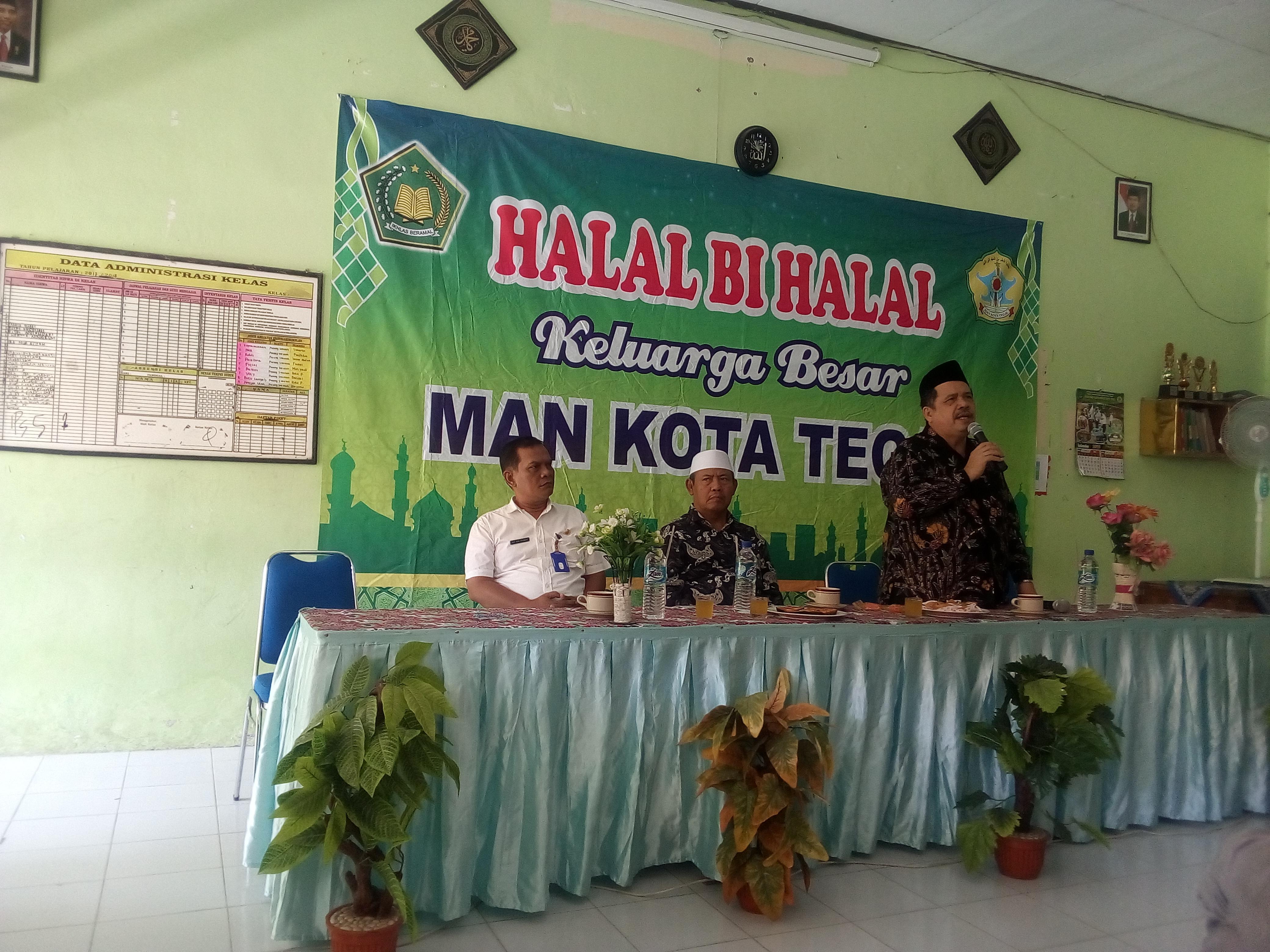 Halal Bi Halal Hari Raya Idul FItri 1440 H MAN Kota Tegal