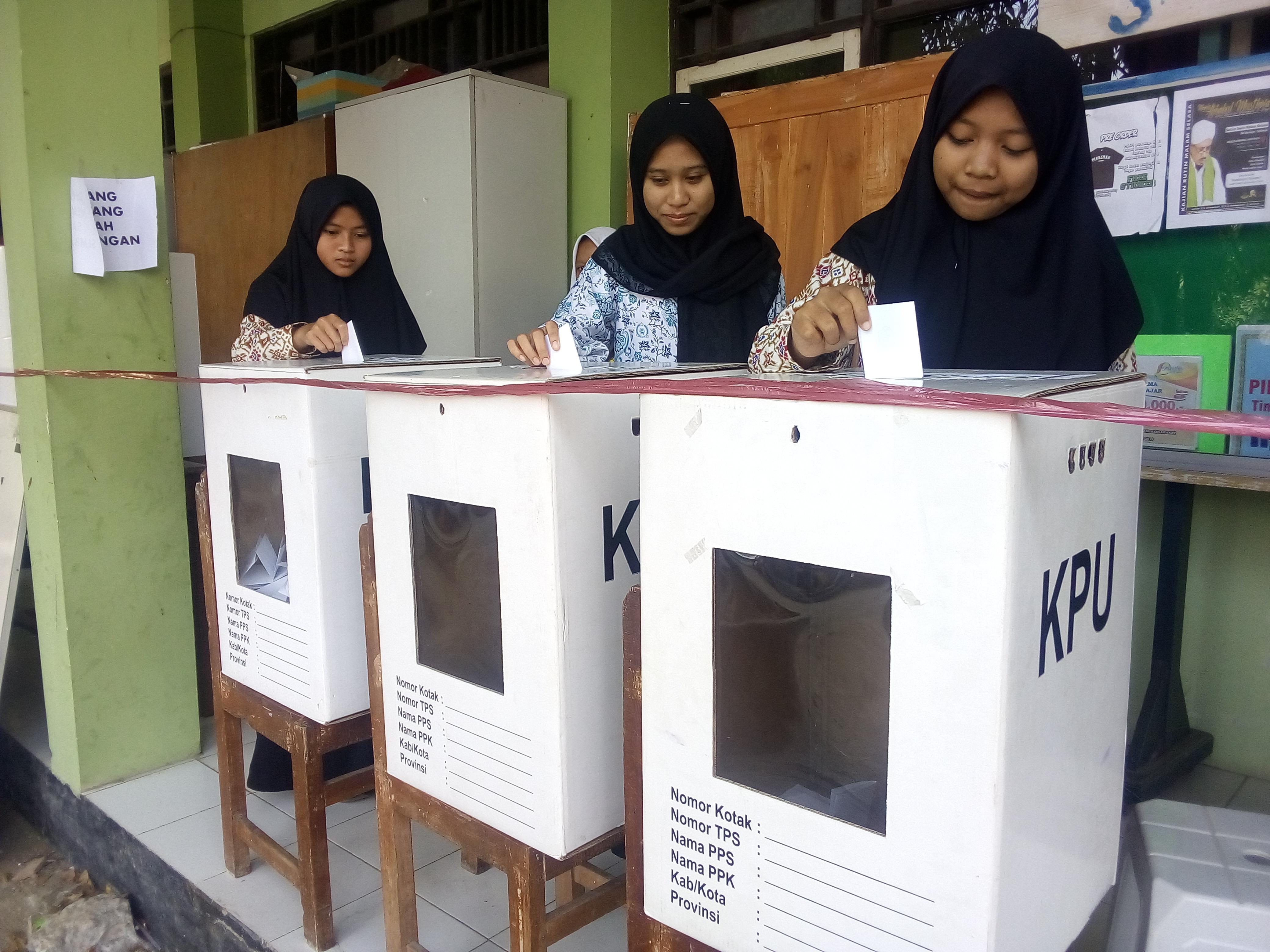 Pemilihan Ketua OSIS (Pilketos) MAN Kota Tegal  Masa Bakti 2019/2020
