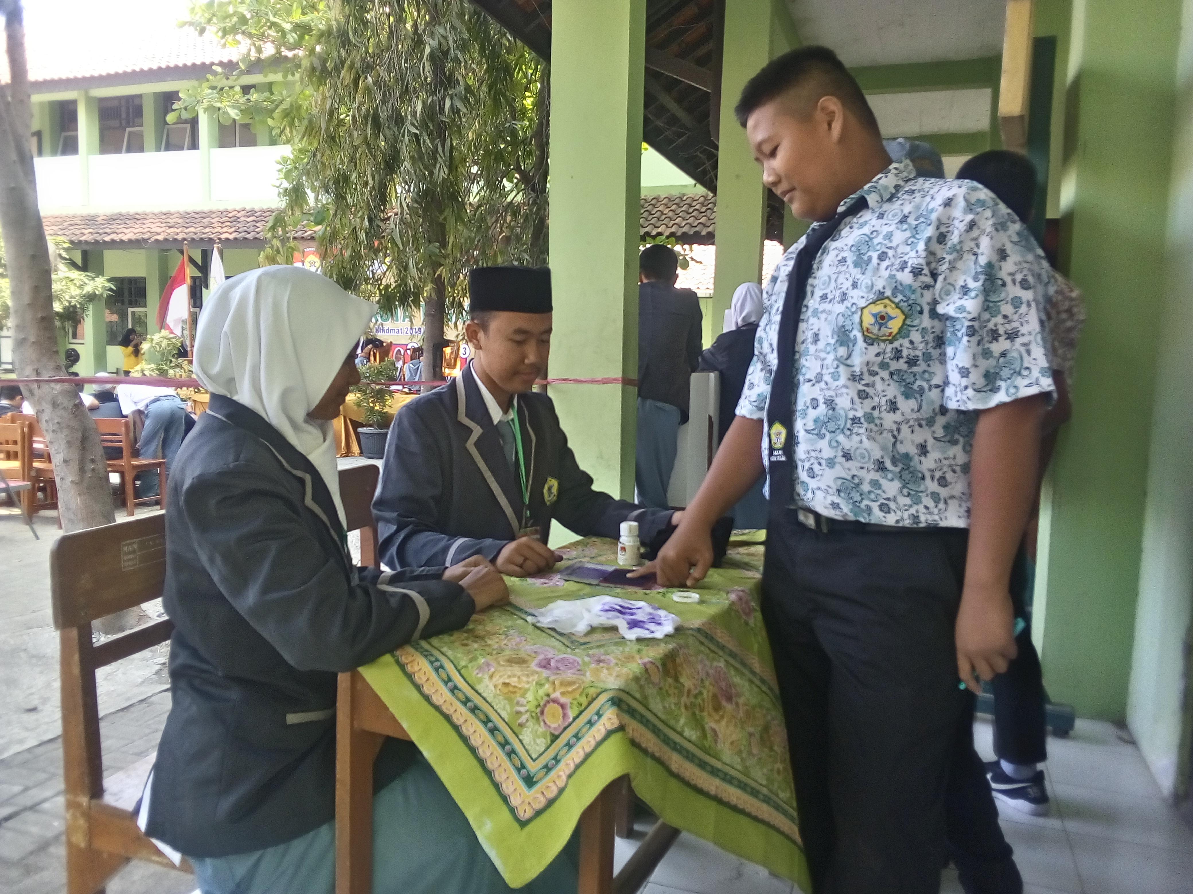 Pemilihan Ketua OSIS MAN Kota Tegal Periode 2019/2020