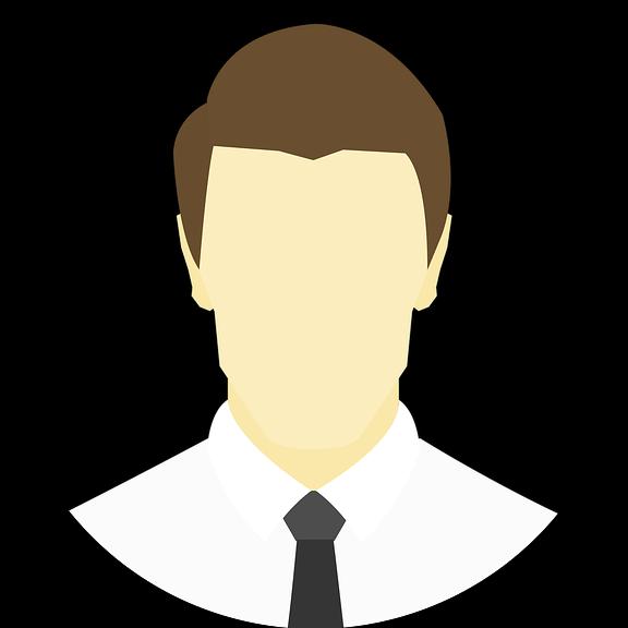 Profil Laki-laki Lingkaran